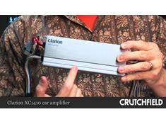 Video: Clarion XC1410 compact car amplifier