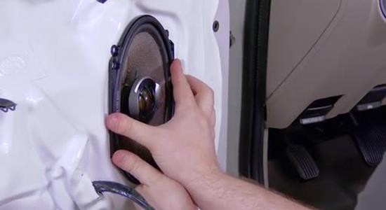 How to install coaxial car speakers