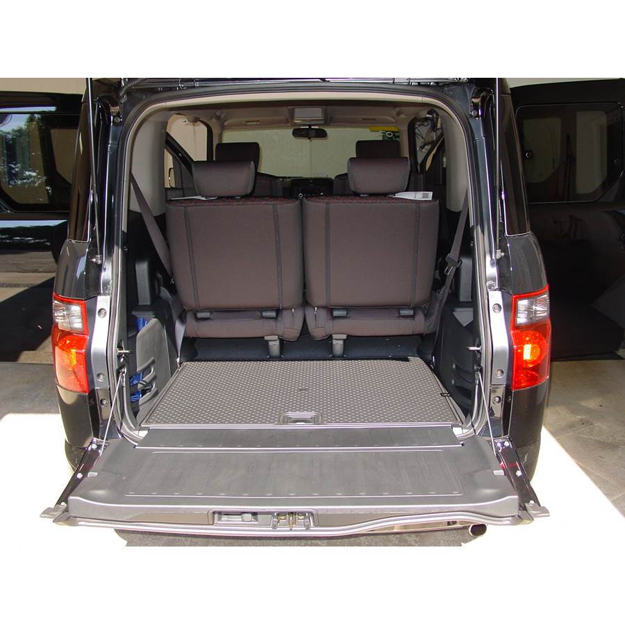 2005 Honda Element Cargo space