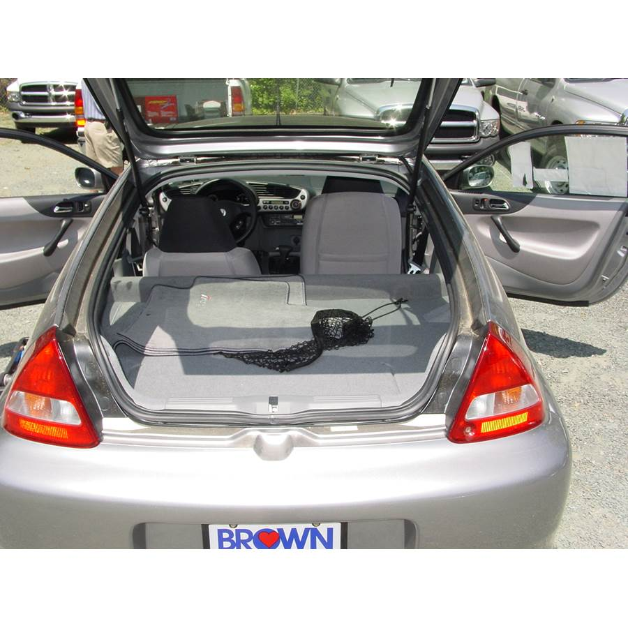 2002 Honda Insight Cargo space
