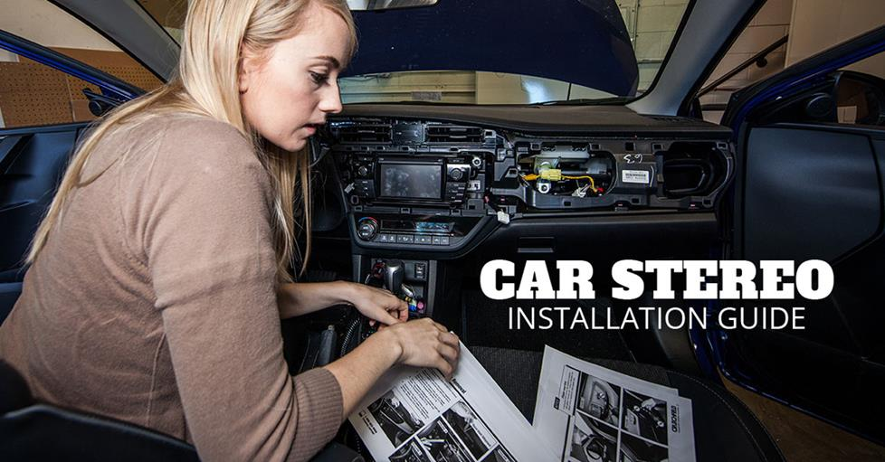 Car install guide image.