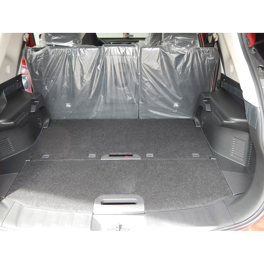 2014 Nissan Rogue Cargo space