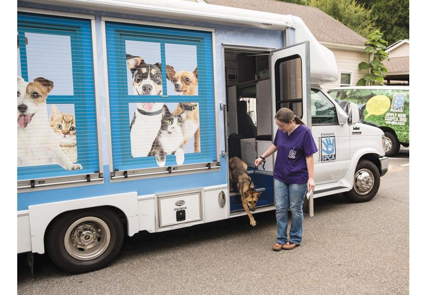 The SPCA Care-A-Van