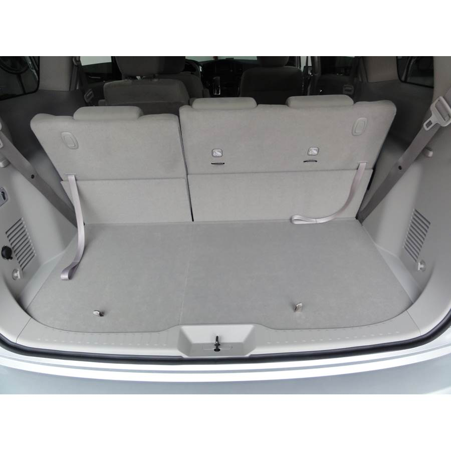 2013 Nissan Quest Cargo space
