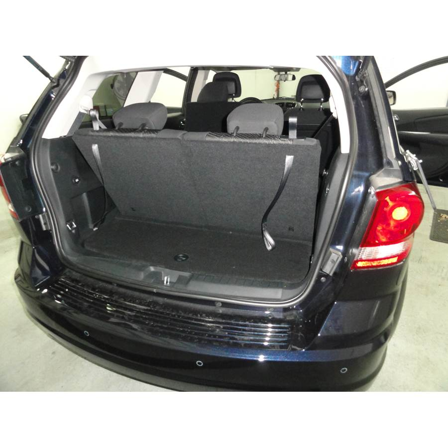 2012 Dodge Journey Cargo space