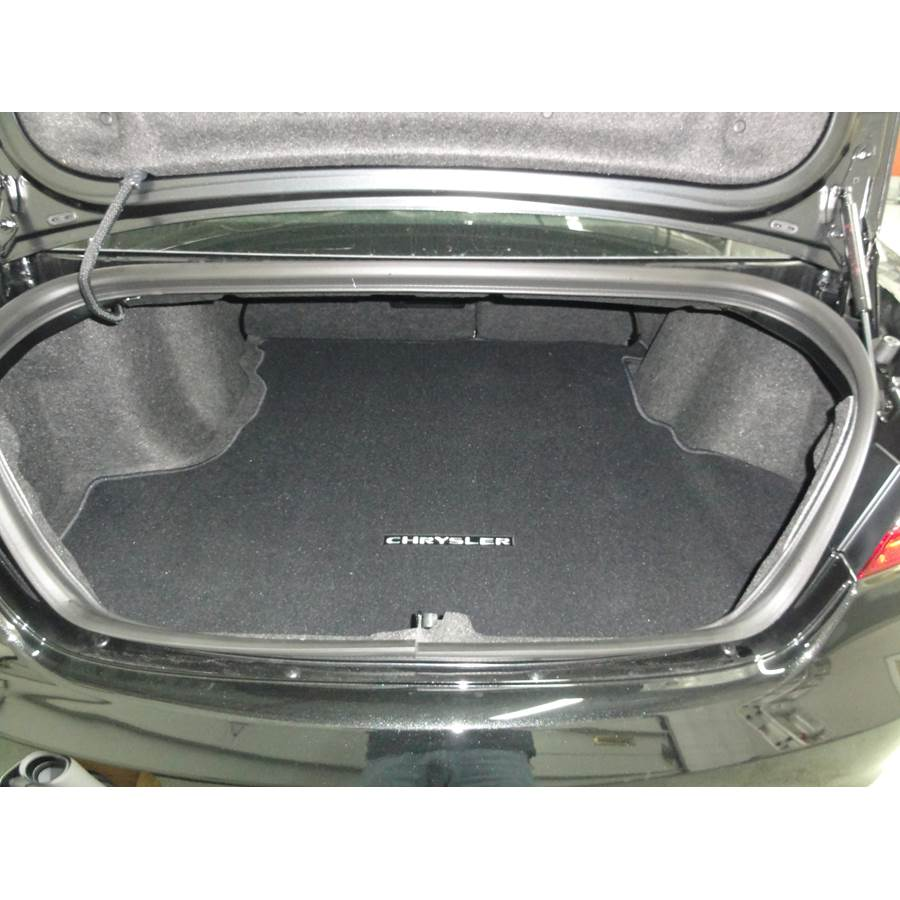 2014 Dodge Avenger Cargo space