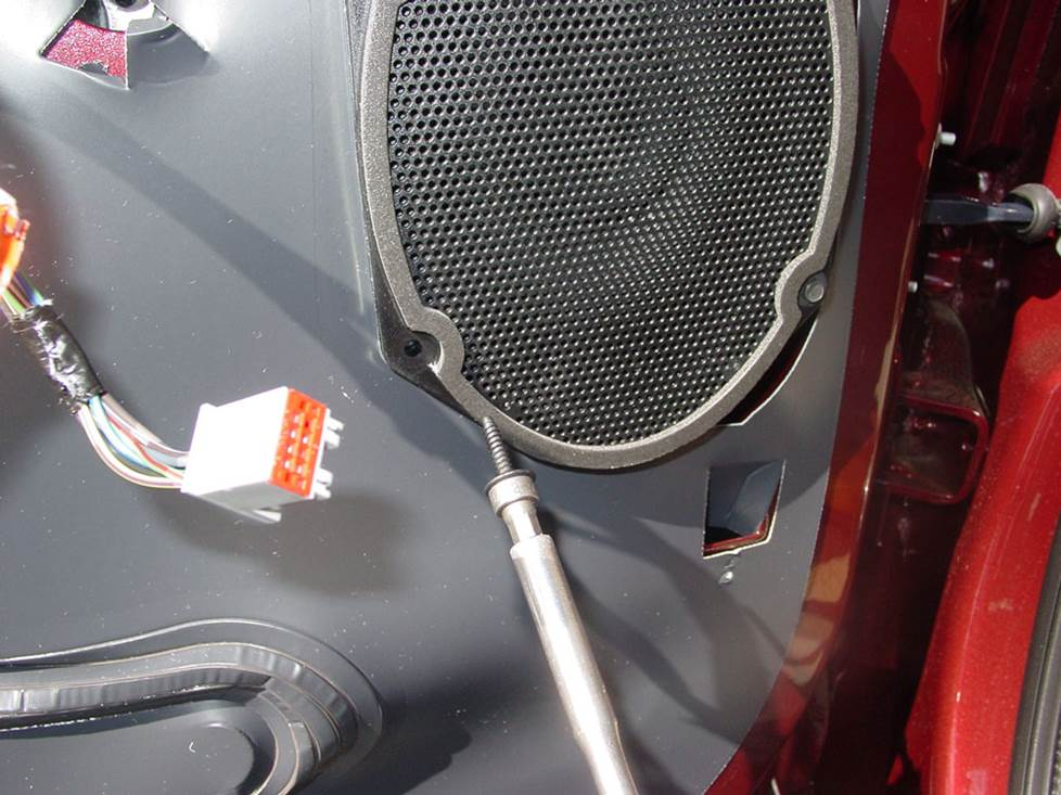 ford f-250 front door speaker