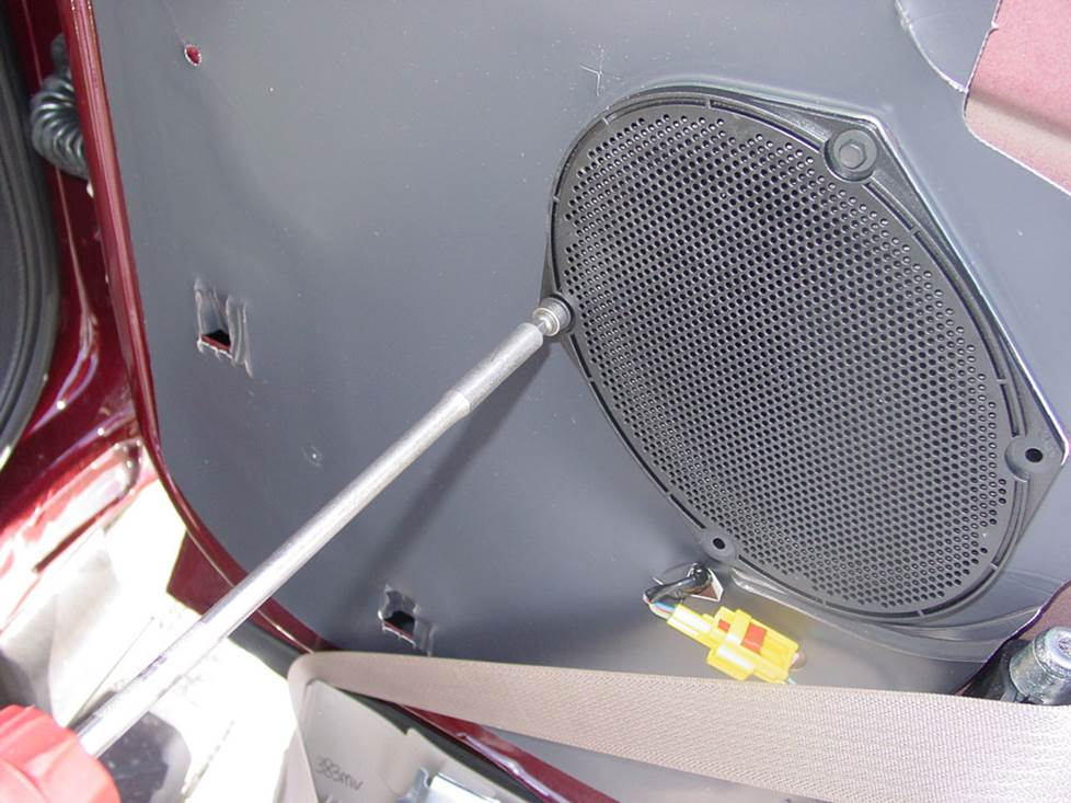 ford f-250 supercab rear door speaker