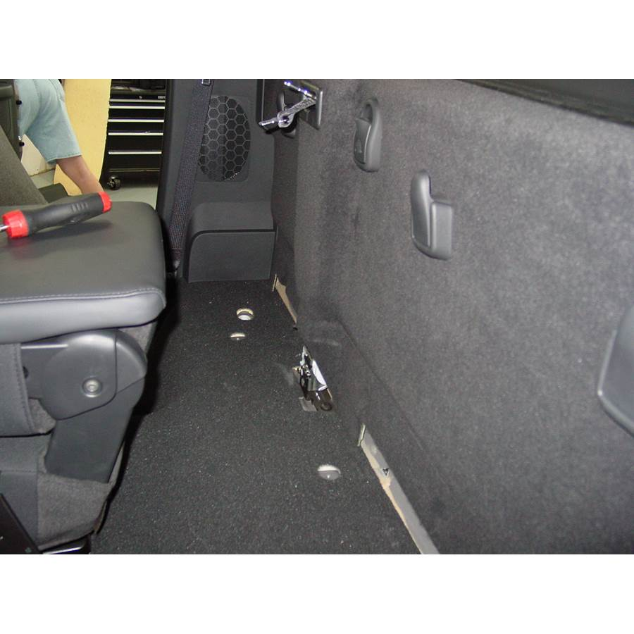 2010 Dodge Ram 5500 Cargo space