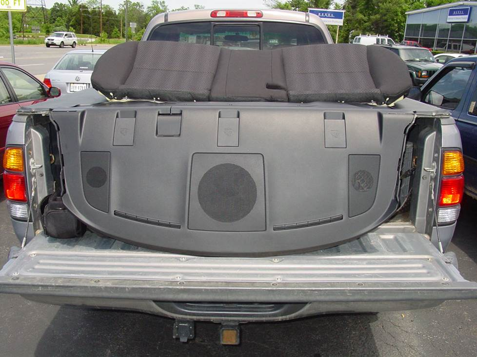 mazda 3 sedan rear deck speakers