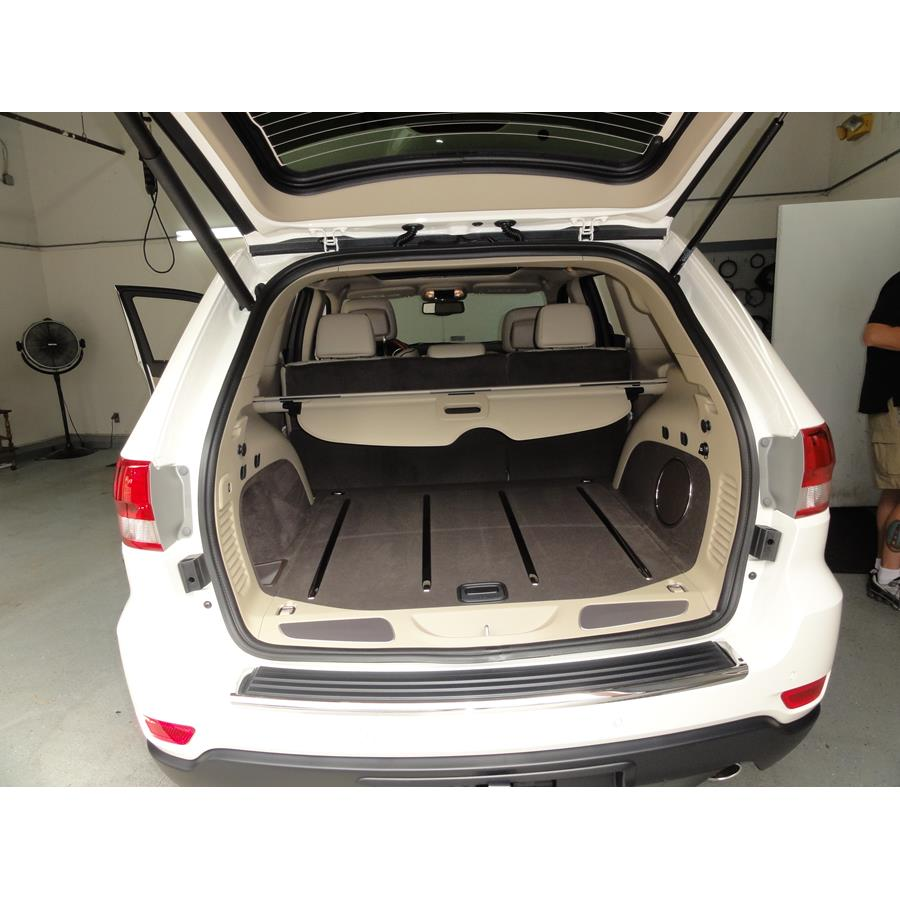 2012 Jeep Grand Cherokee Cargo space