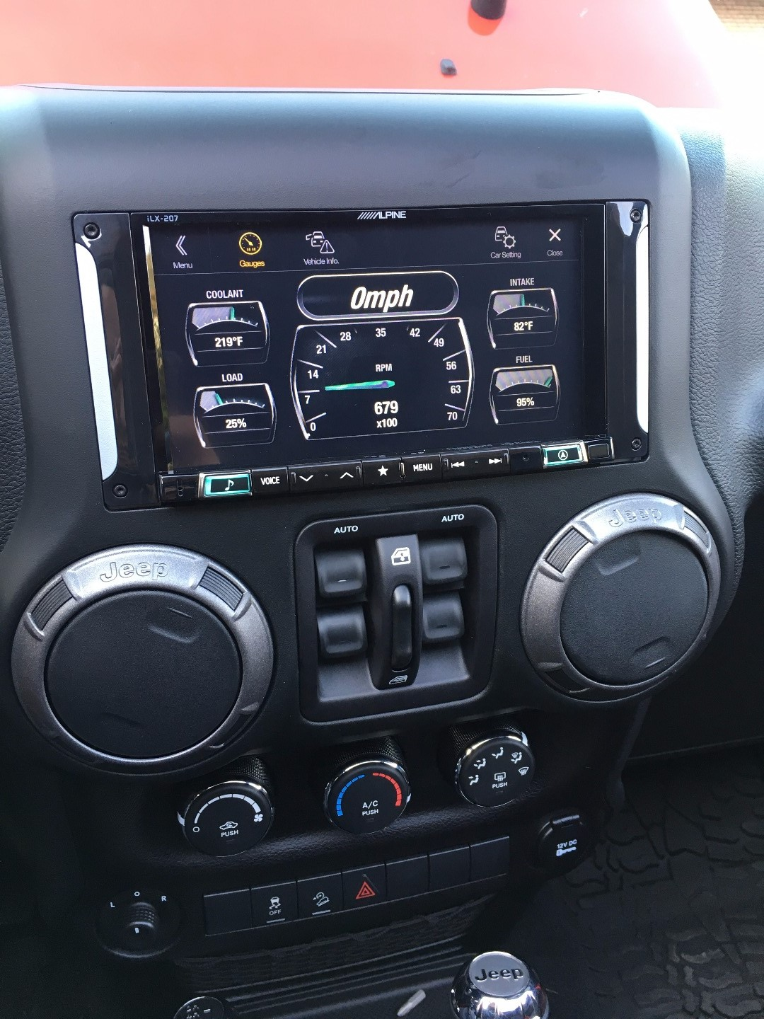 Alpine Restyle i207-WRA Custom-fit digital multimedia