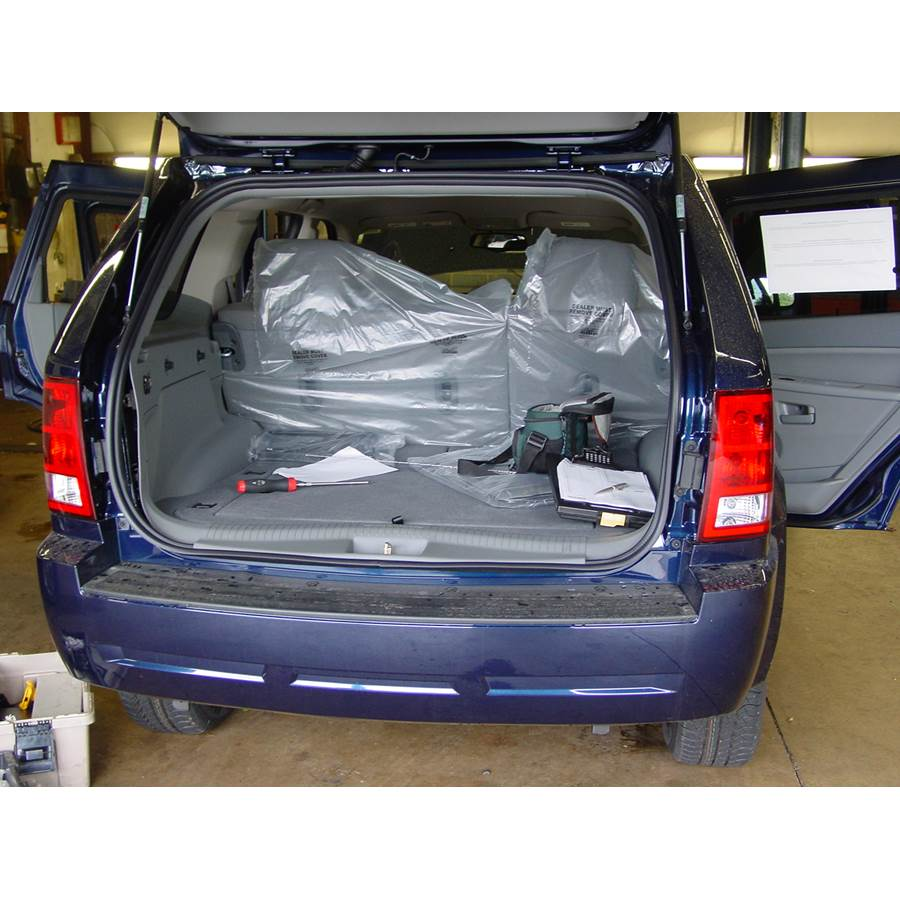 2008 Jeep Grand Cherokee Cargo space