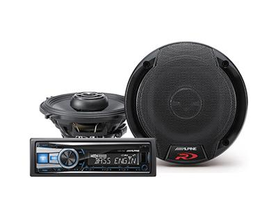Rockin' Alpine deal:save $50 when you buy a select car stereo and 2 pairs of speakers