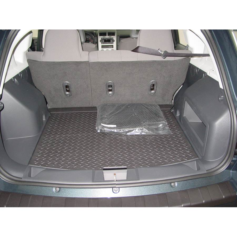 2015 Jeep Compass Cargo space