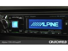 Video: Demo of the Alpine CDE-HD149BT CD receiver