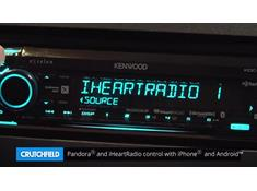 Demo of the Kenwood Excelon KDC-X701 CD receiver