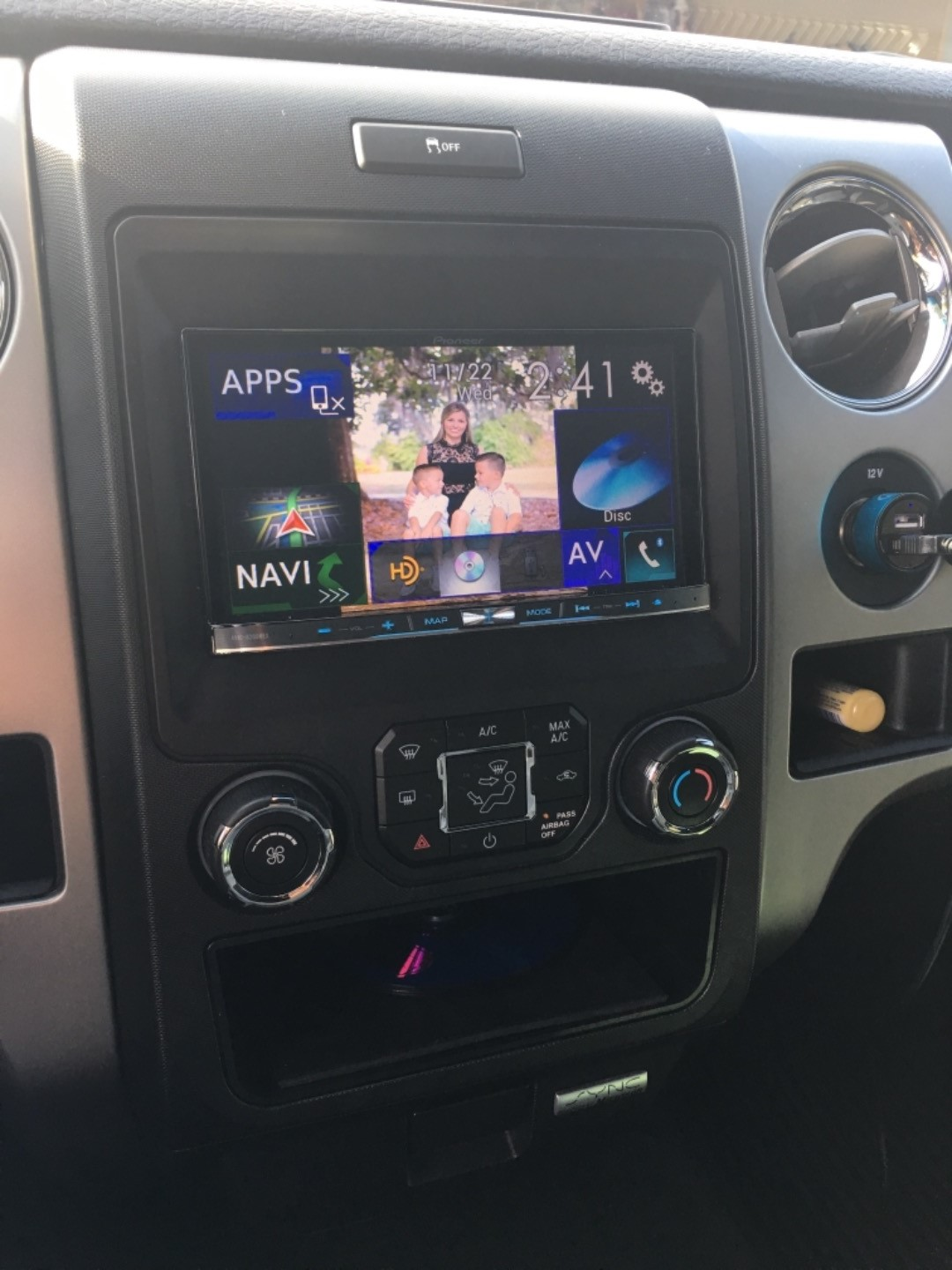 Ford F150 Xlt >> iDatalink K150 Dash Kit Install a new car stereo in select ...