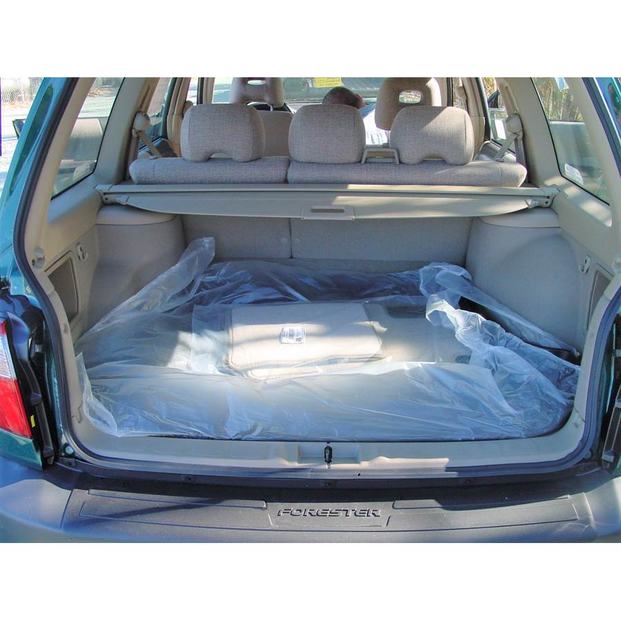 2001 Subaru Forester Cargo space
