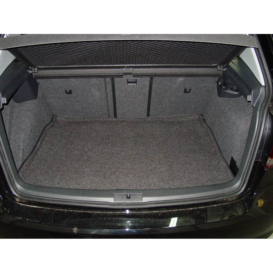 2012 Volkswagen Golf Cargo space