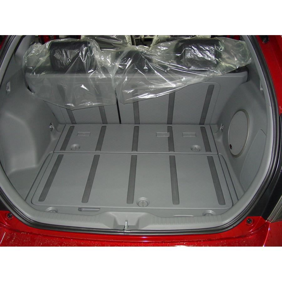 2013 Toyota Matrix Cargo space