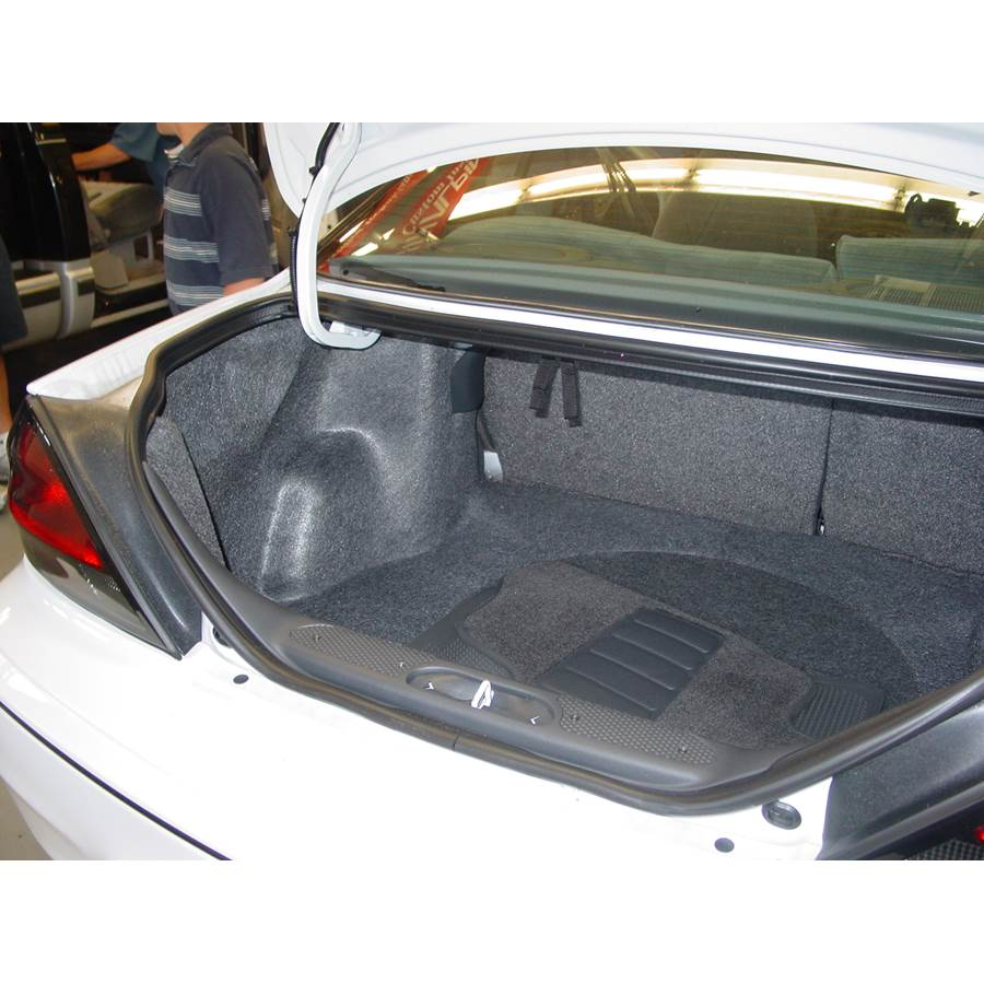 2002 Pontiac Grand Am Cargo space