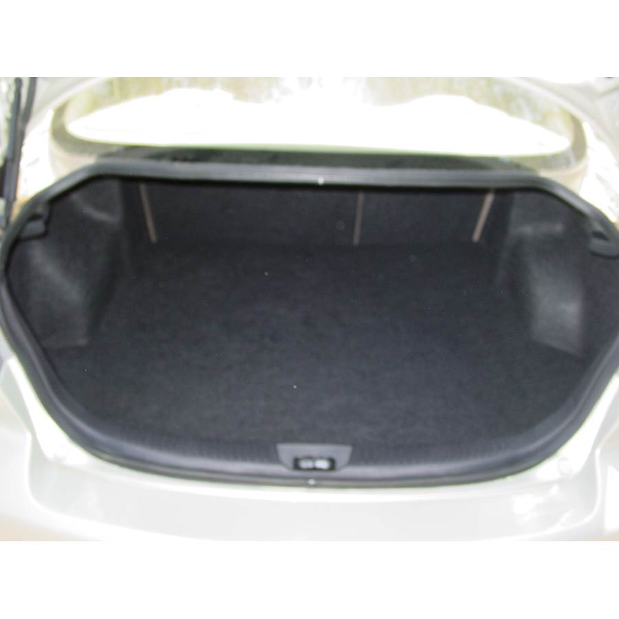 2006 Mazda Mazdaspeed 6 Cargo space