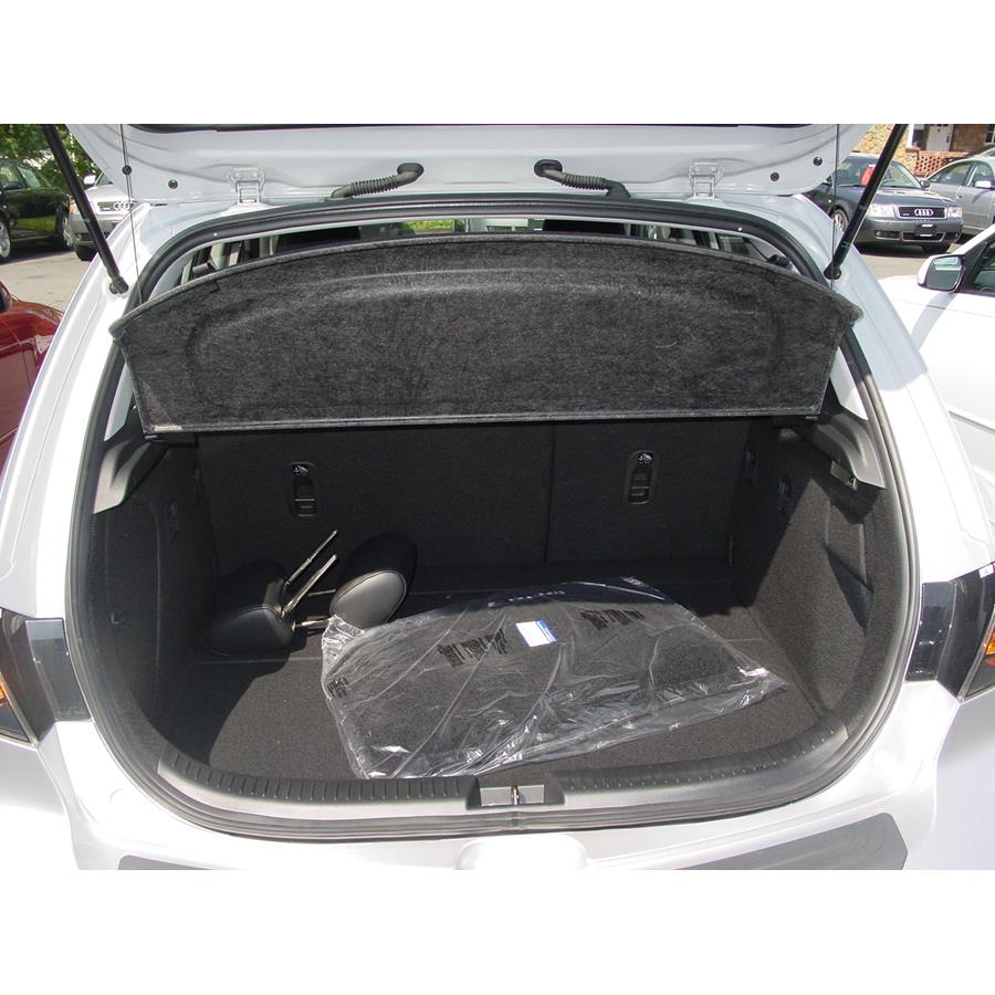 2009 Mazda Mazdaspeed3 Cargo space