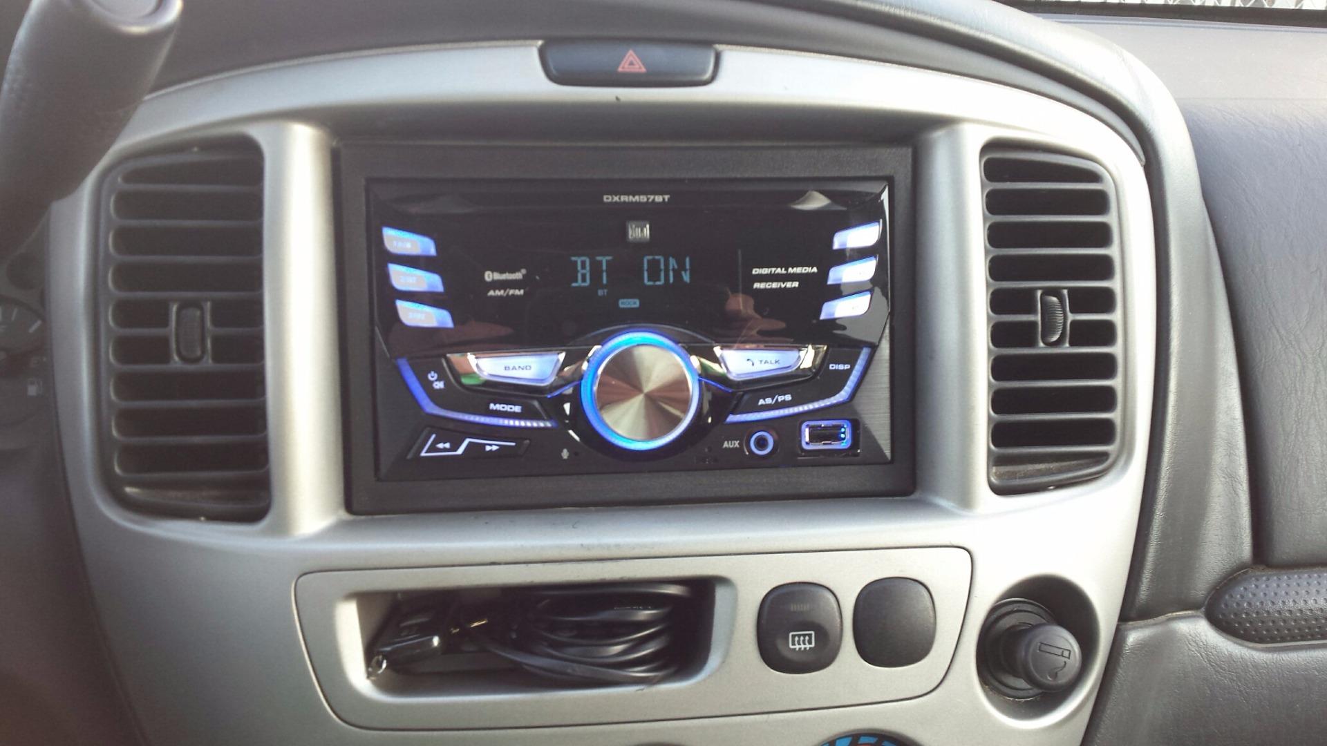 Dual DXRM57BT Digital media receiver (does not play CDs) at Crutchfield