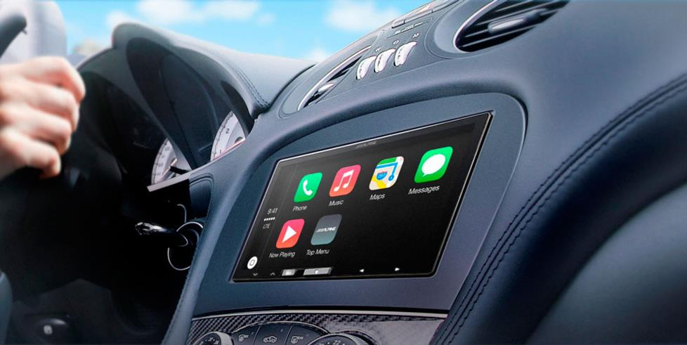 apple carplay receiver