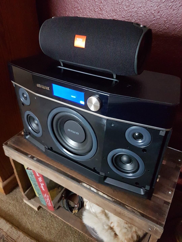 Aiwa Exos-9 Portable Bluetooth® speaker at Crutchfield