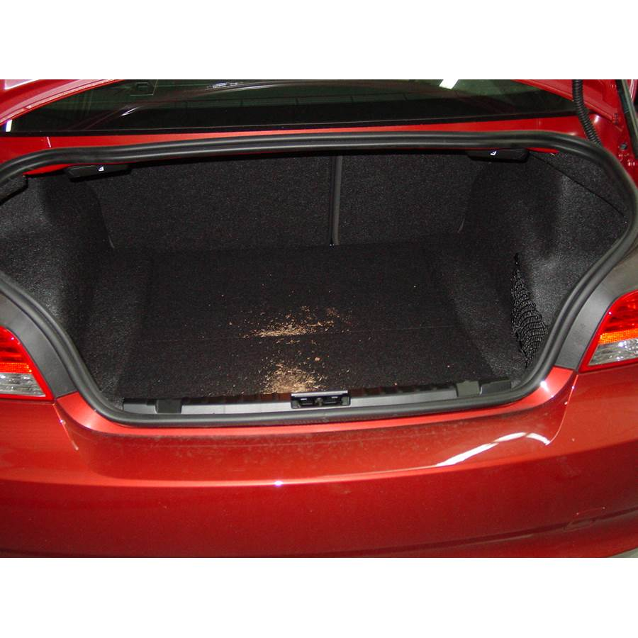 2008 BMW 1 Series Cargo space