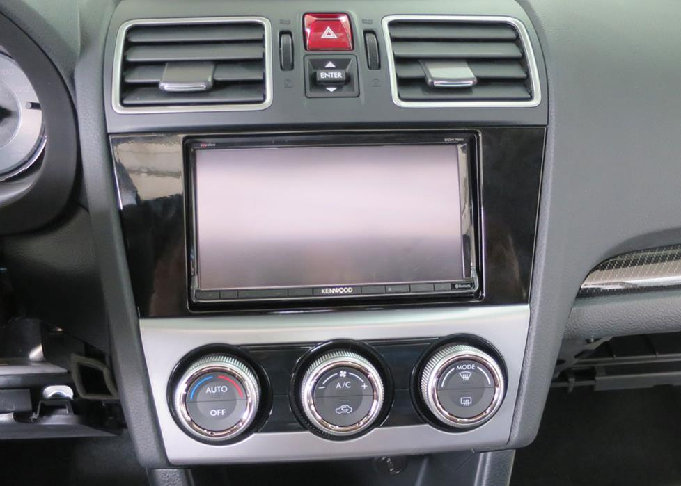 subaru wrx radio dash kit