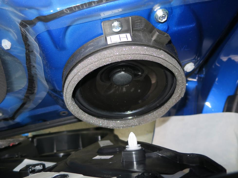 subaru wrx front door speakers