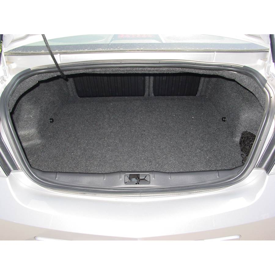 2009 Saturn Aura Cargo space