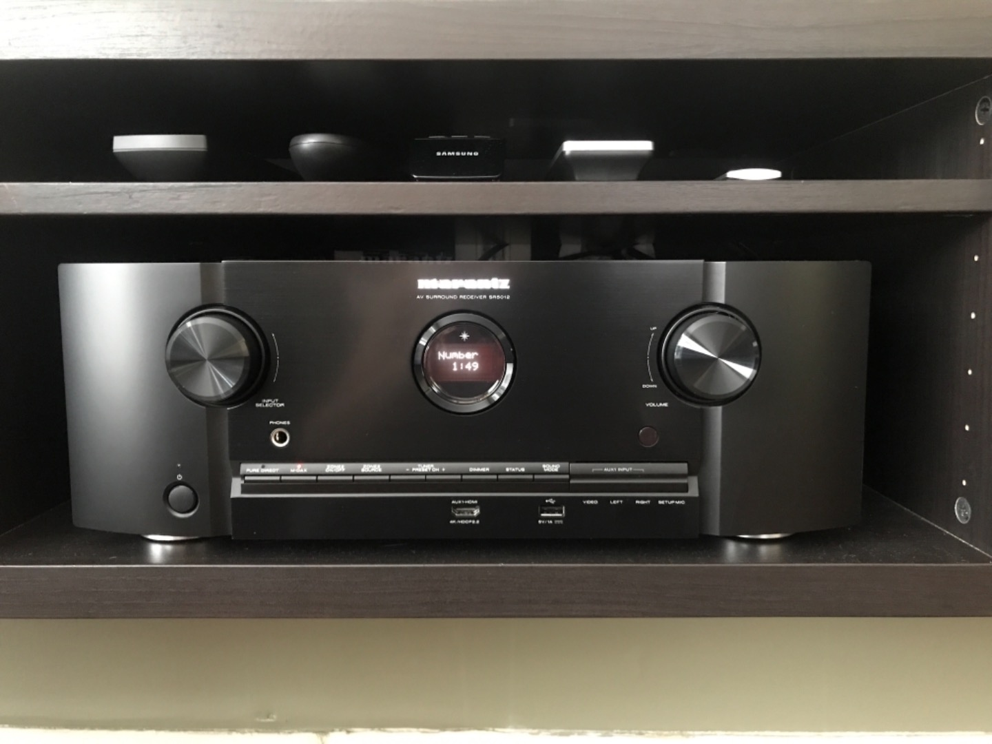 Marantz SR5012 7 2-channel home theater receiver with Wi-Fi®, Dolby