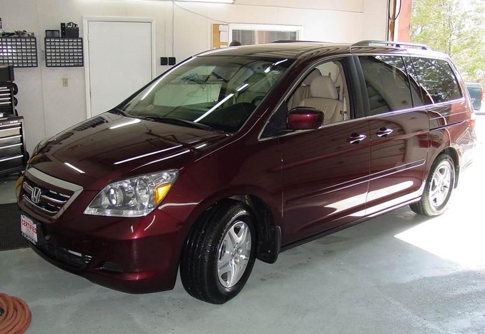 2005-2010 Honda Odyssey on