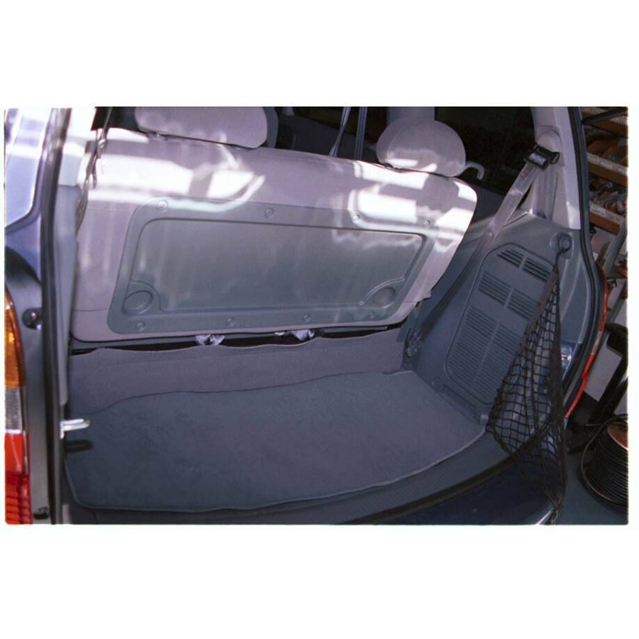 2002 Mercury Villager Cargo space