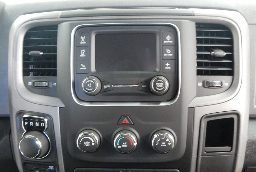 ram pickup base radio