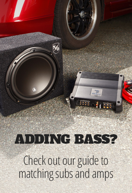 Quick guide to matching subs and amps