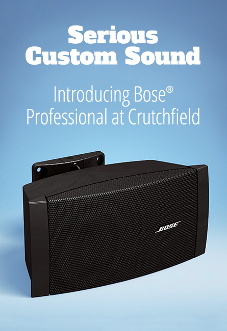 Introducing Bose Professional