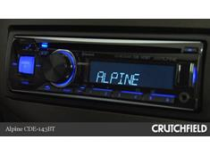 Video: Demo of the Alpine CDE-143BT CD receiver