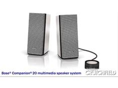 Video: Bose® Companion® 20 multimedia speaker system