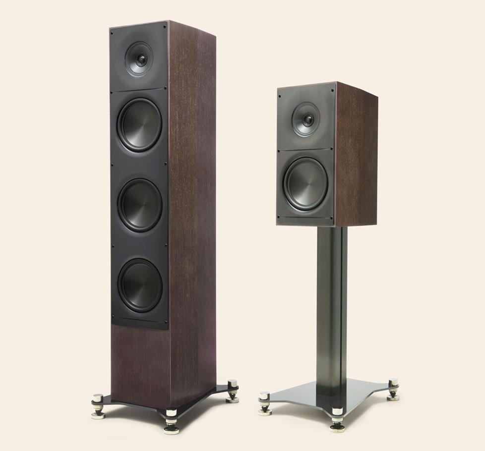 ELAC Adante tower and stand-mount speakers
