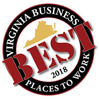 Crutchfield named one of Virginia's Best Places to Work 2018