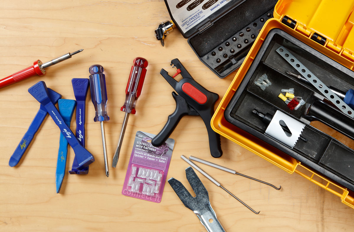 12 Tools You Need To Add Your Car Audio Tool Box Wiring Harness Wire Striper