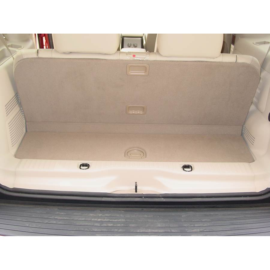 2003 Lincoln Aviator Cargo space