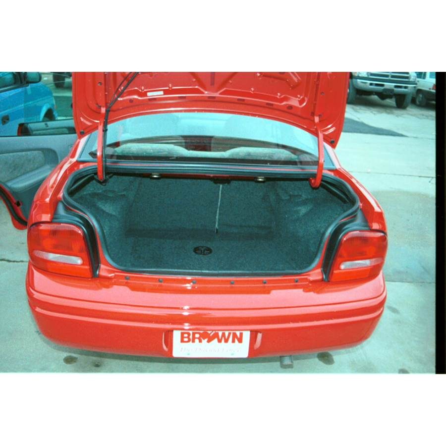 1996 Plymouth Neon Cargo space