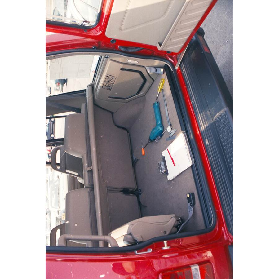 1998 Land Rover Discovery Cargo space