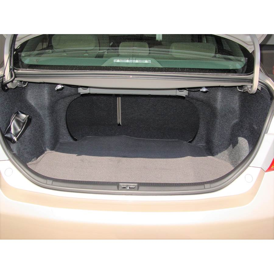 2011 Toyota Camry Hybrid Cargo space